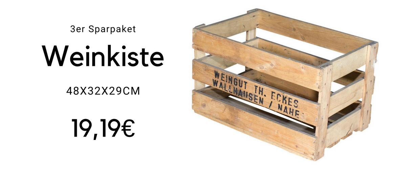 Weinkiste Set