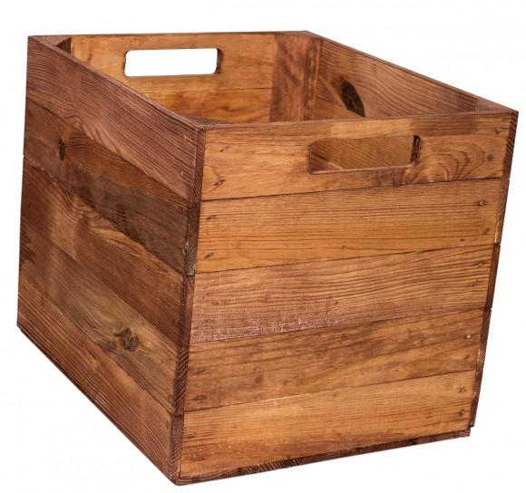 4er Paket Holzkiste für Kallax Regal