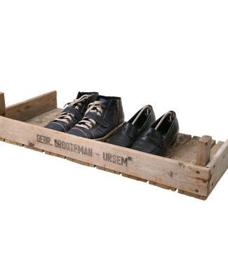 Steigenregal für Schuhe